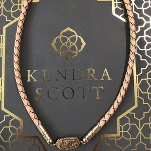 Kendra Scott Rose Gold Braided Choker